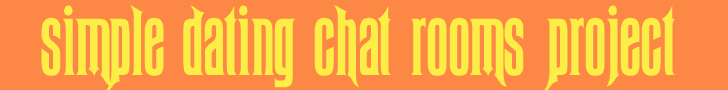 FREE DATING CHAT ROOMS chatwithstrangers.org logo